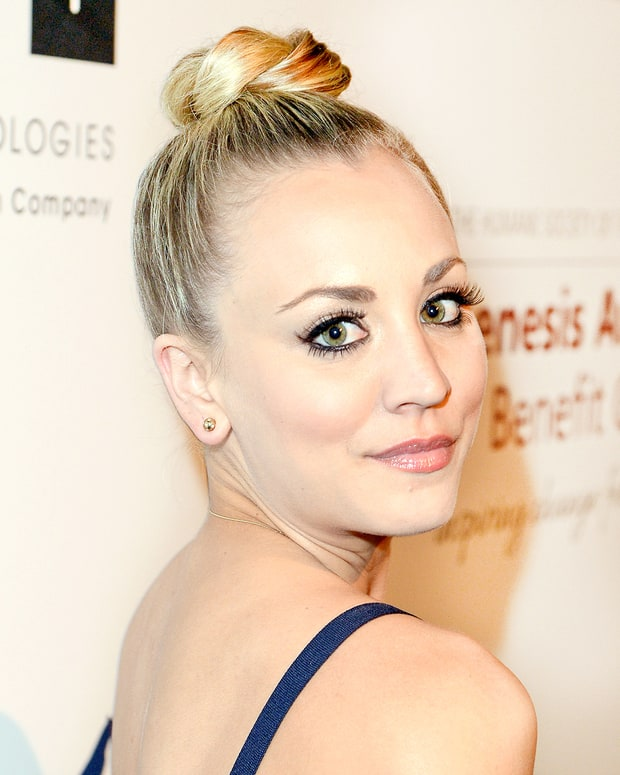 Cuoco Hair Kaley Knots Looks