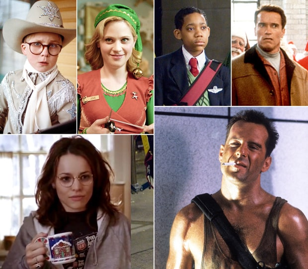 Holiday Movie Stars: Then & Now