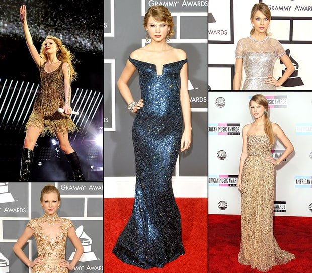 Taylor's Sparkly Dresses