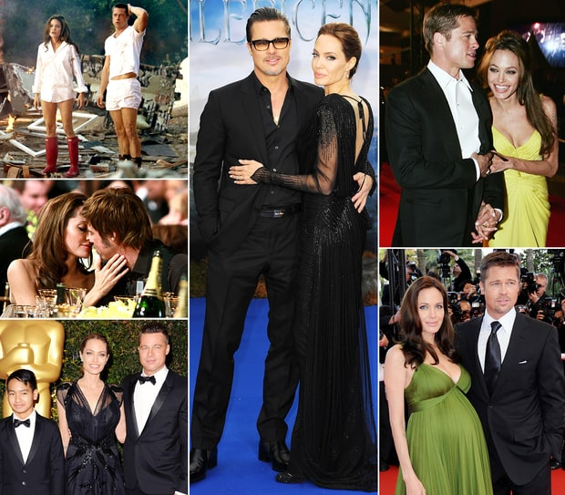 Brangelina's Love Evolution