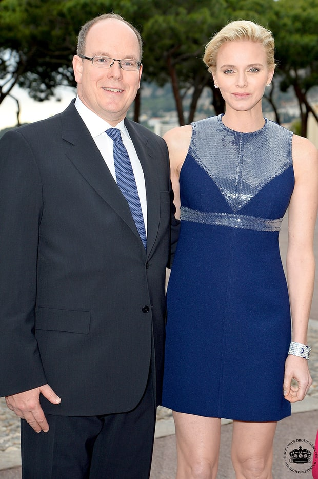 Princess Charlene of Monaco and Albert II
