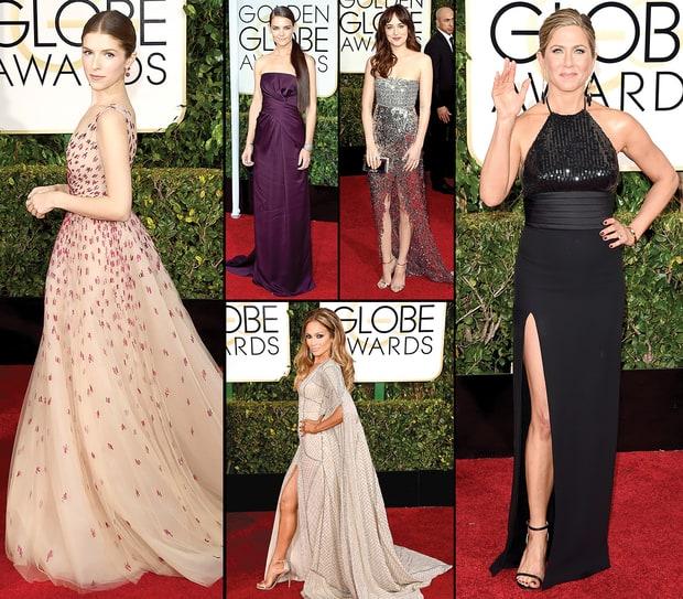 Best Globes Of The Golden Globes: Golden Globes 2015 Red Carpet Fashion