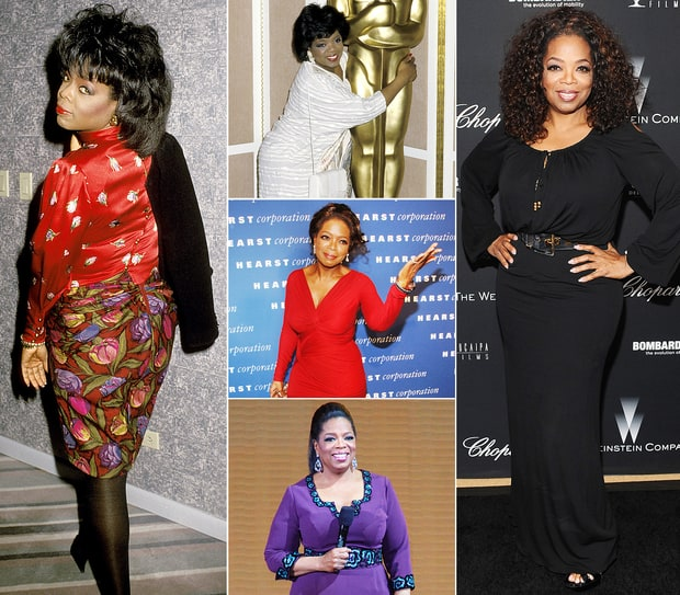 Oprah's Body Through The Years