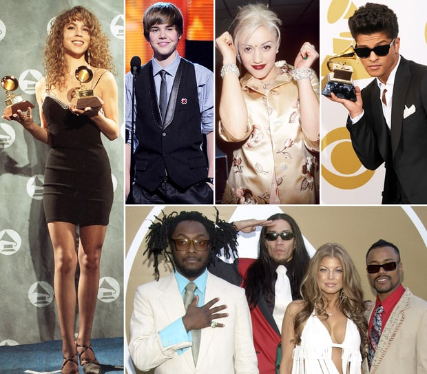 Stars' First Grammy Appearances