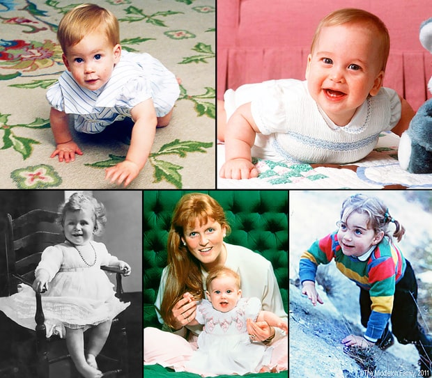 Royal Family Baby Photos