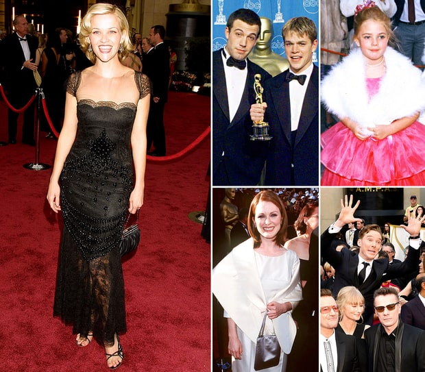 Celebrities' First Oscar Appearances