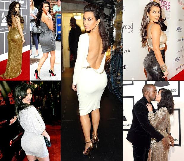 Kim Kardashian's Best Booty Moments