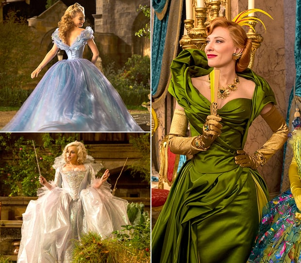 Cinderella Costumes: From Sketches to Movie | Cinderella's ... Cate Blanchett Magazine