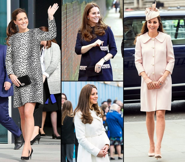 Kate Middleton's Chic Second Pregnancy Style