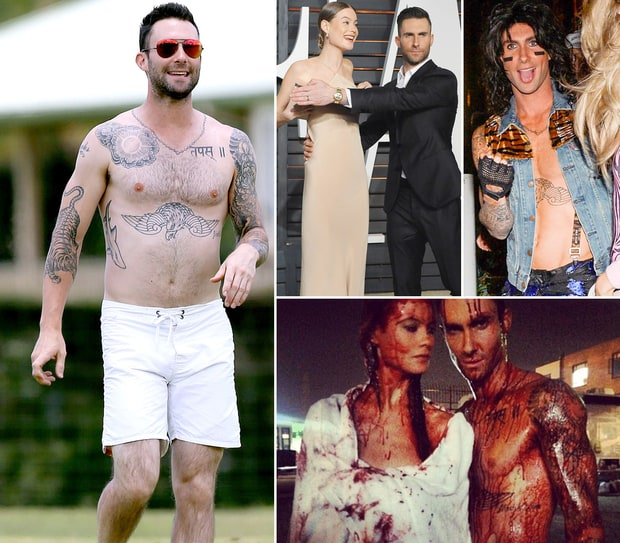 Adam Levine's Hottest Pictures