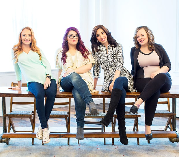 Teen Mom Cast, Then and Now