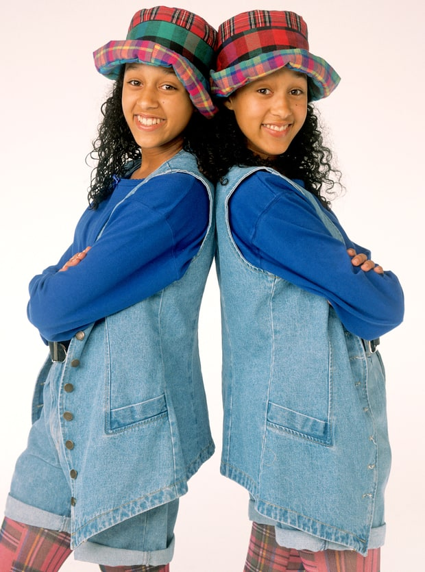 Tia and Tamera Mowry: Then
