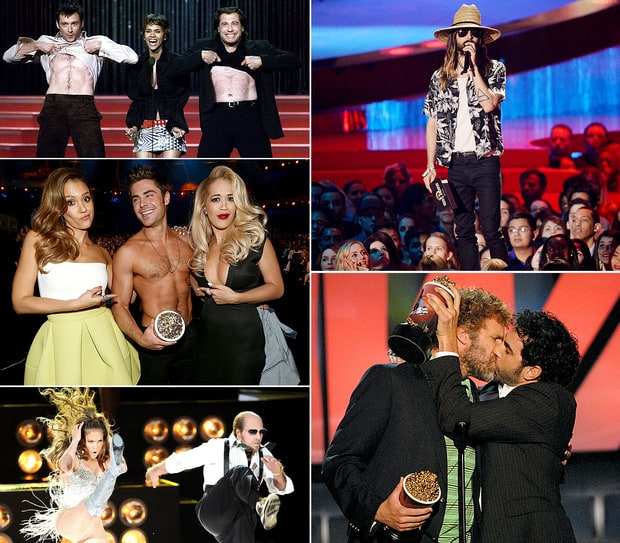 MTV Movie Awards' Funniest Moments