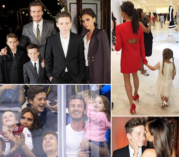 Victoria Beckham's Cutest Moments With Her Kids