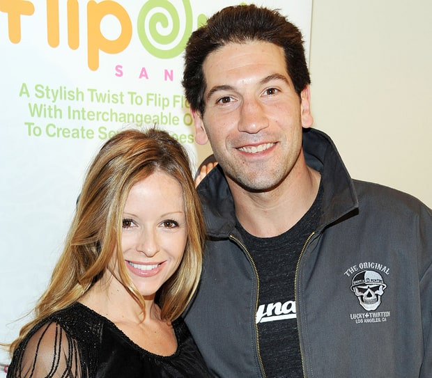 Jon Bernthal and Erin Angle