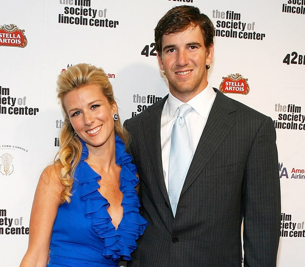 Eli Manning and Abby McGrew