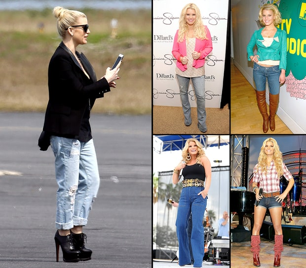 Jessica Simpson Loves Jeans!