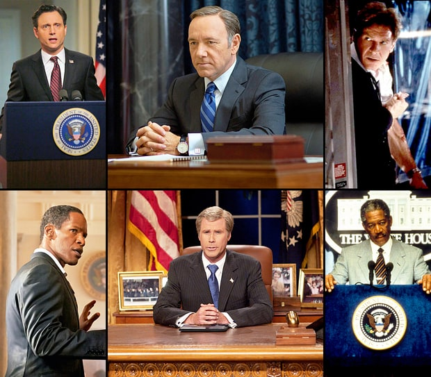 Stars Who Played the President