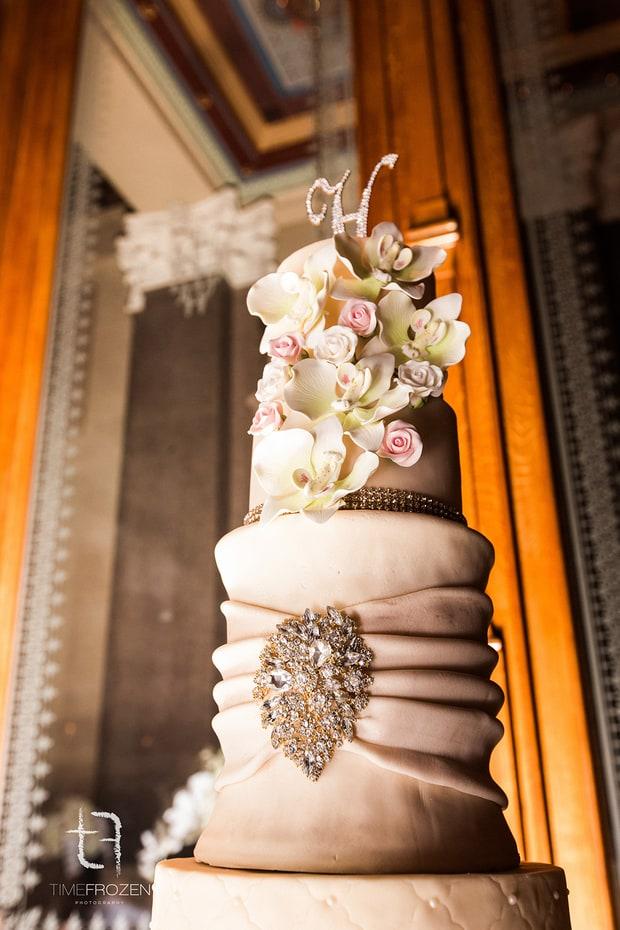 Yandy And Mendeecees Wedding Cake