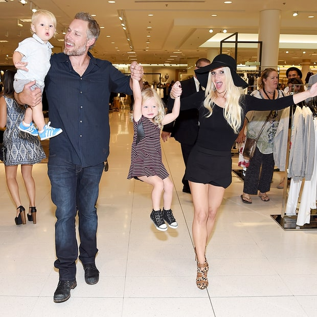 Jessica Simpson and Eric Johnson's Fun Life With Maxwell and Ace!