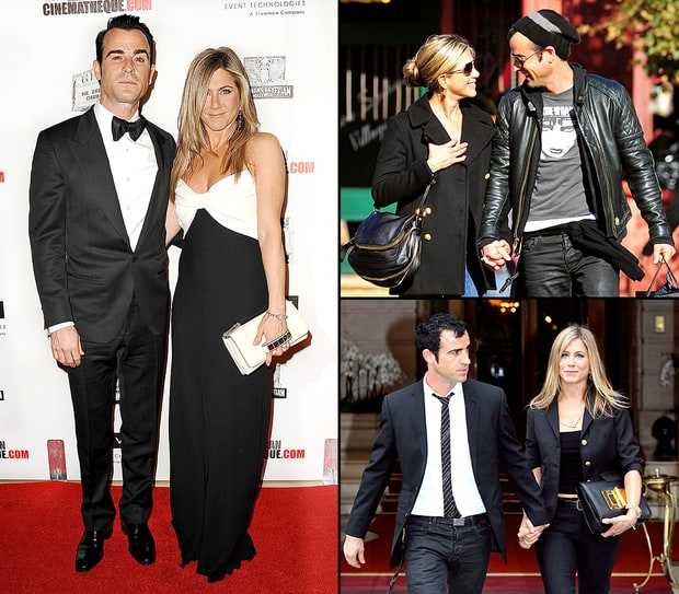 Jennifer Aniston and Justin Theroux's Matching Style