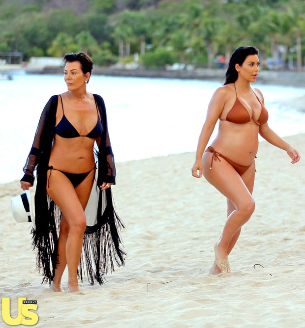 Run kim run keeping up with the kardashians bikini bodies in st