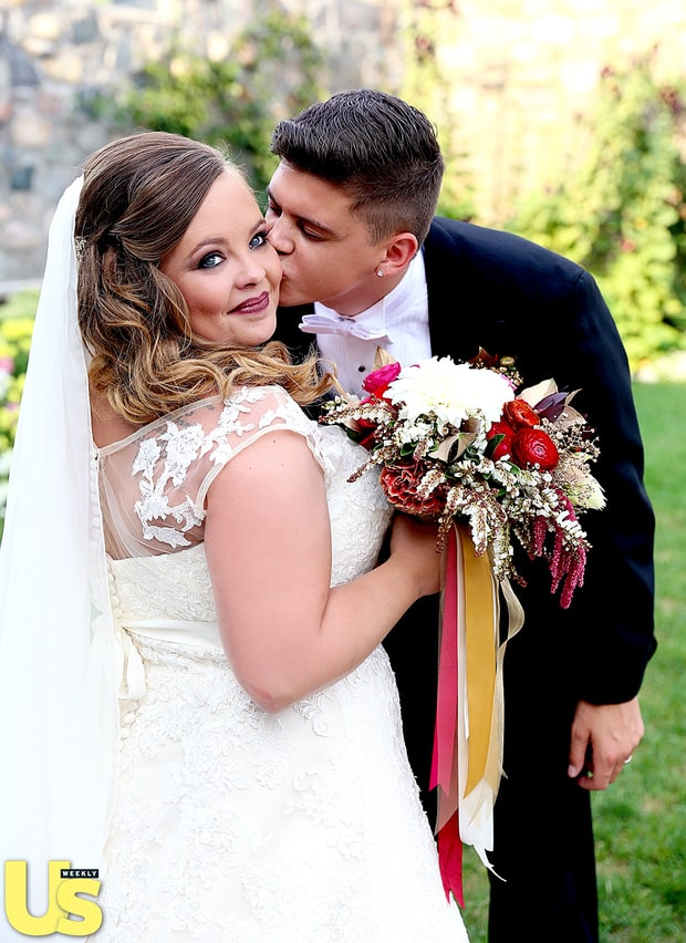 husband smooches teen mom ogs catelynn lowell and tyler