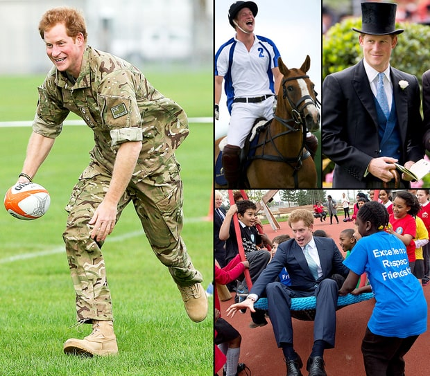 Prince Harry's Hottest Moments