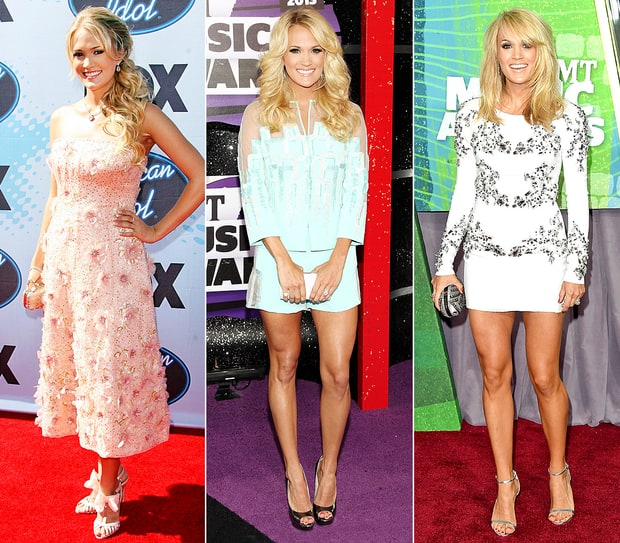 Carrie Underwood's Style Evolution