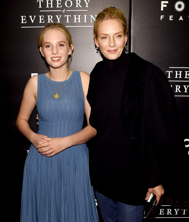 Uma Thurman and Maya Thurman-Hawke