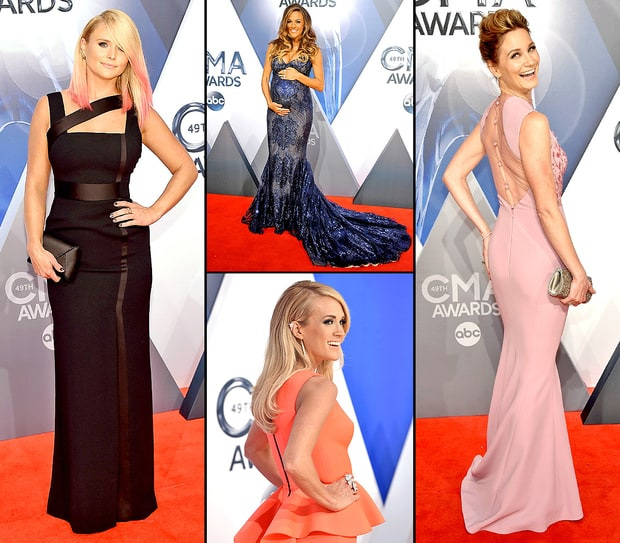 CMA Awards 2015 Red Carpet: What The Stars Wore