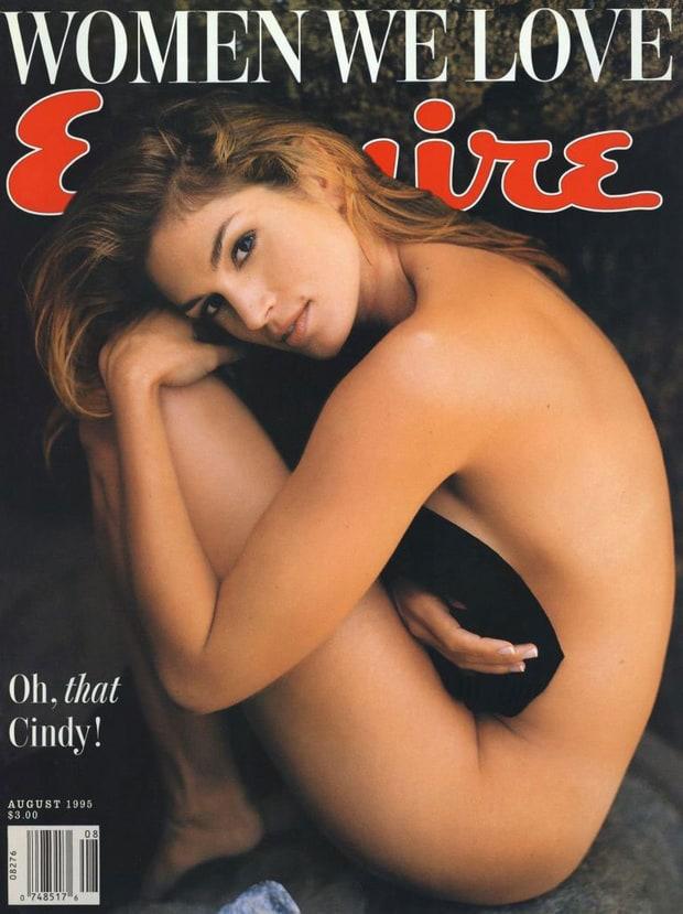 Cindy Crawford sexy bar