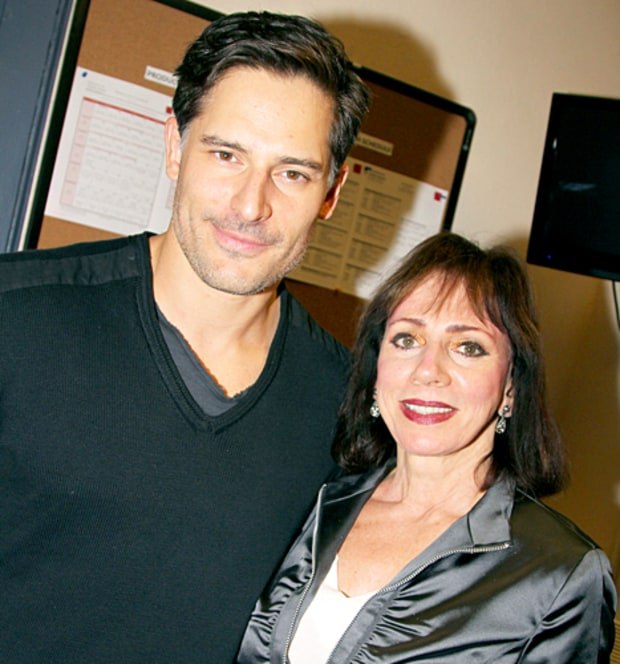 Photo of Joe Manganiello & his  Mother  Susan Manganiello