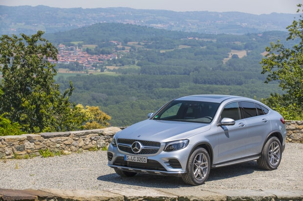 SUVs/Crossovers: Mercedes-Benz GLC Coupe