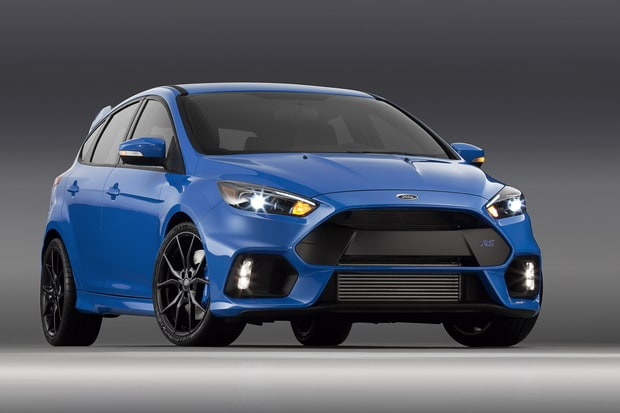 Sedans: Ford Focus RS
