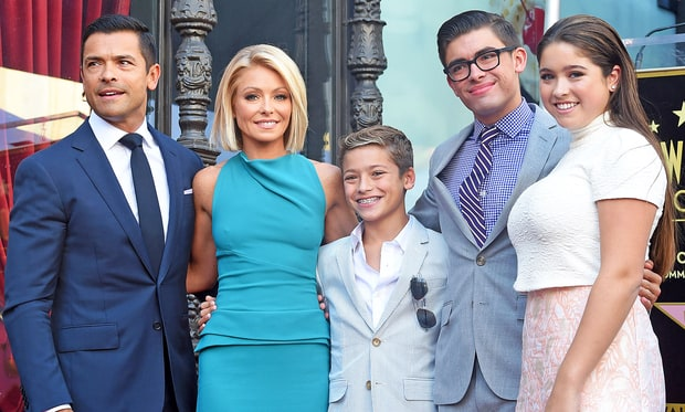 Michael, Lola and Joaquin Consuelos: Now