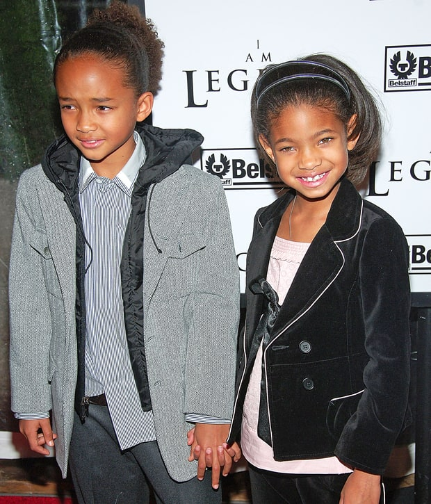Jaden and Willow Smith: Then