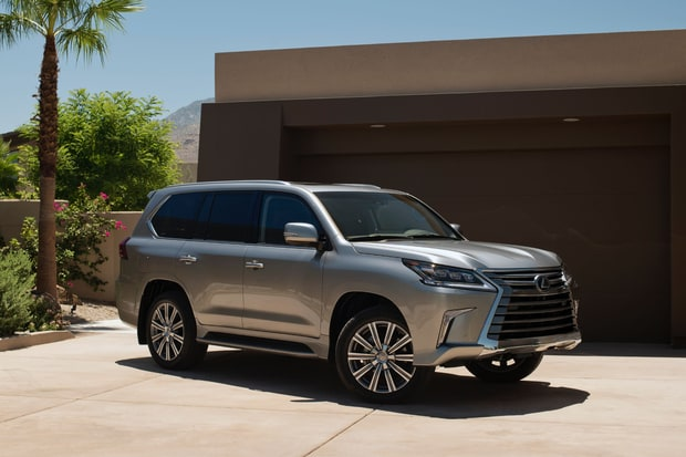 SUVs/Crossovers: Lexus LX 570