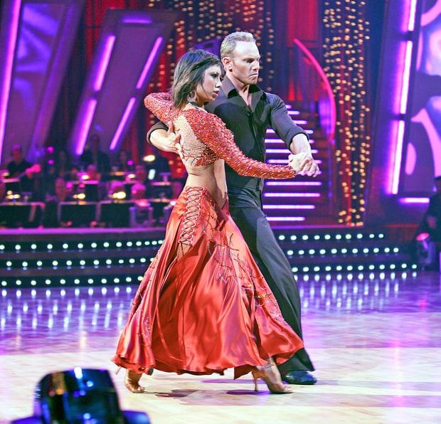 Ian Ziering and Cheryl Burke