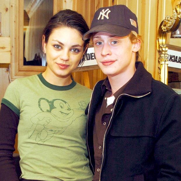 Mila Kunis and macaulay culkin