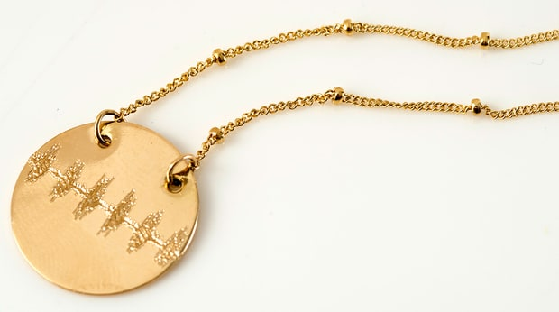 Erica Sara Soundwave Necklace