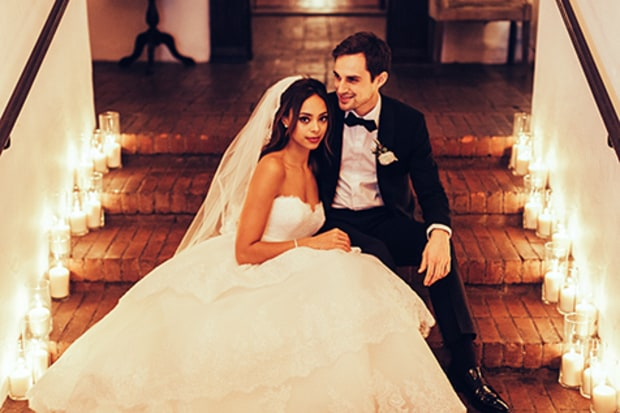 Amber Stevens and andrew west married