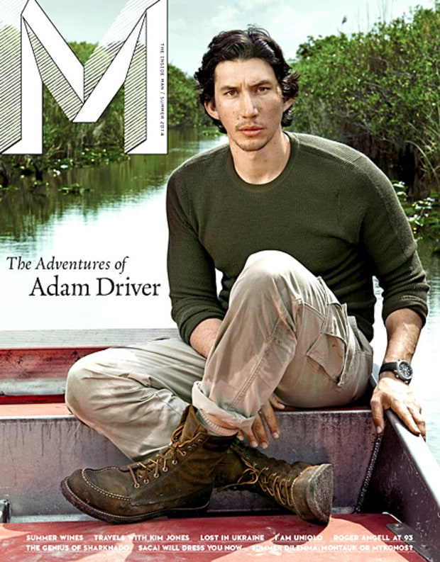 Adam Driver Marine Three 15 | WSOURCE Shia Labeouf Interview