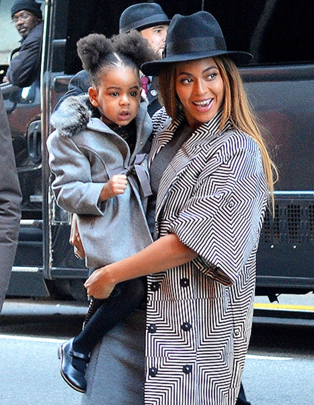 Beyonce Baby Blue Ivy Now