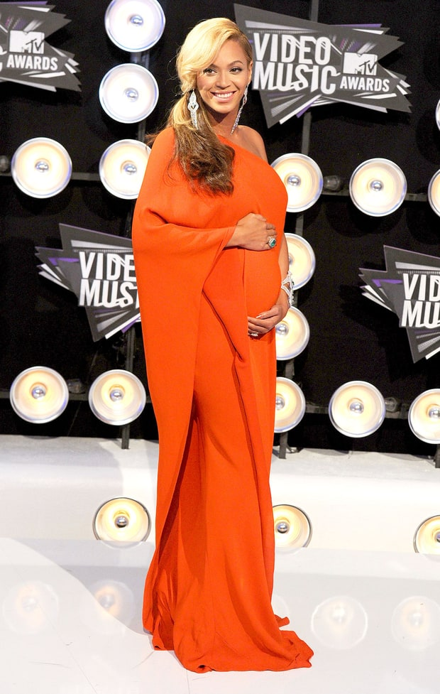Beyonce's Baby Bump Style