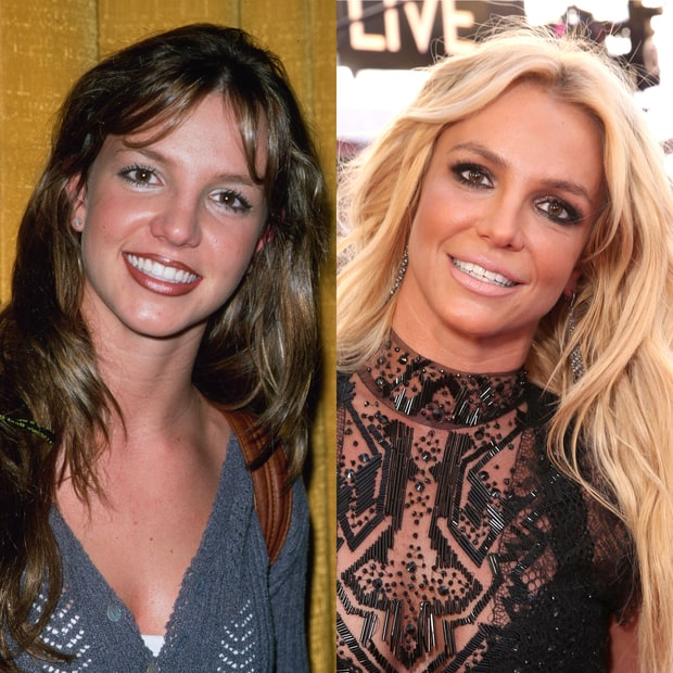 Britney spears 90s pop stars then and now us weekly