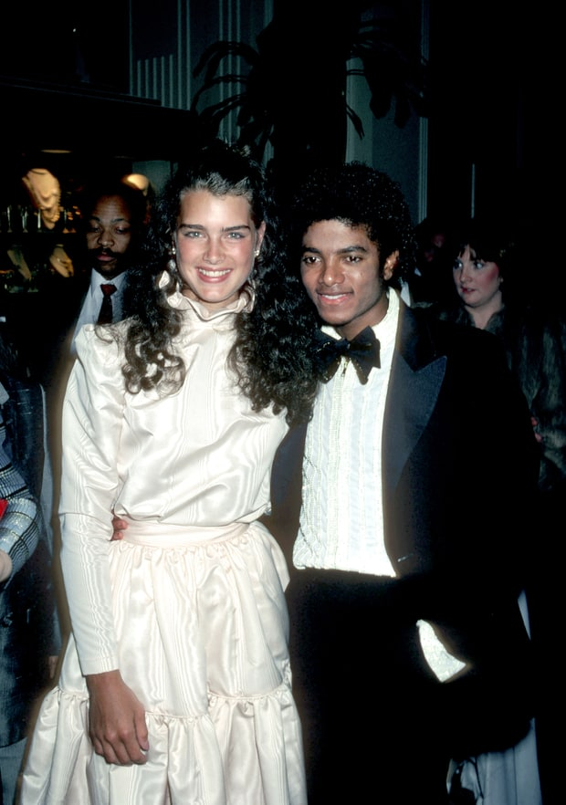 Brooke Shields & Michael Jackson