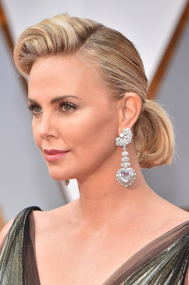 Charlize Theron | 2017 Oscars' Best Hair and Beauty Looks ...