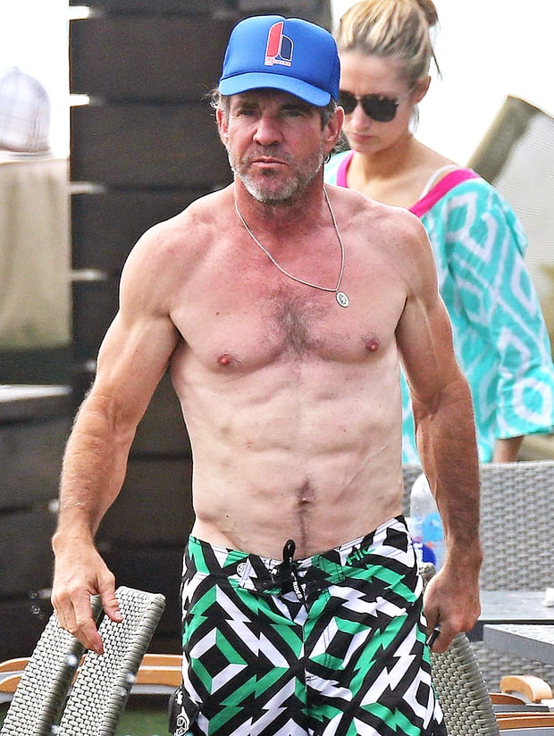 Young Dennis Quaid dennis quaid is ridiculously ripped at 61: see the ...
