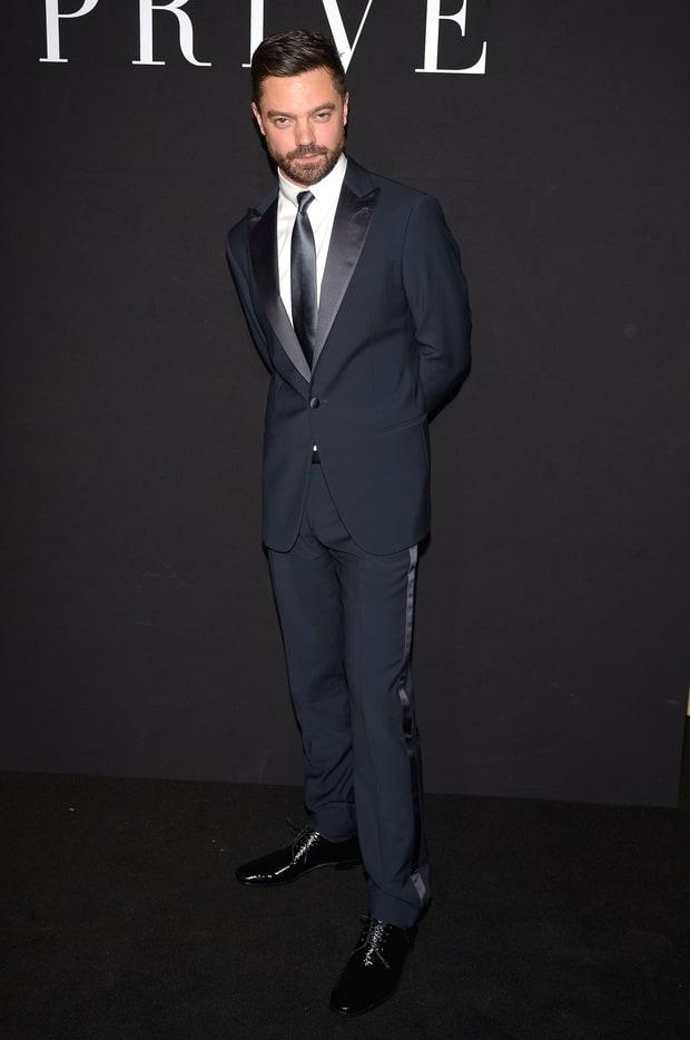 Dominic Cooper At Armani Priv 233 See Jen Garner Will And